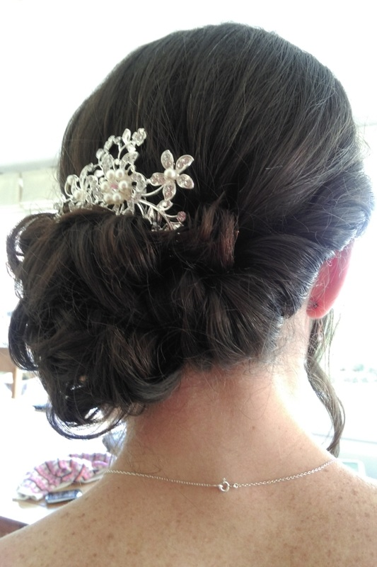 Wedding hair by Karen's Beautiful Brides