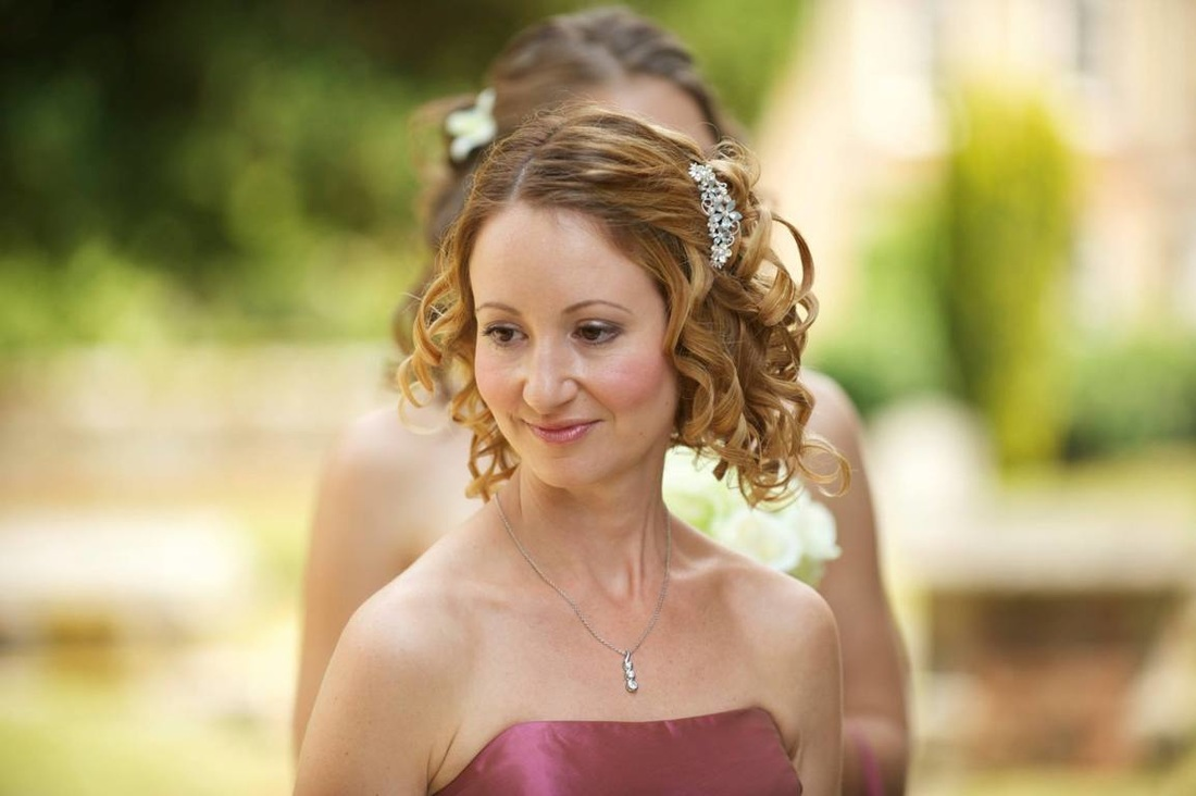 Photo of bridesmaids wedding hair by www.karensbeautifulbrides.co.uk, Suffolk CO100BT
