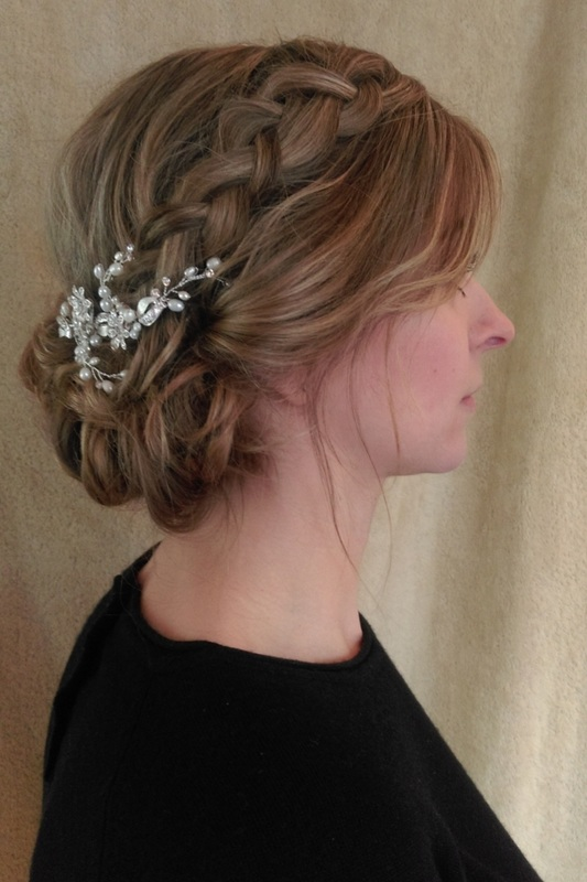 wedding hair up by Karen's Beautiful Brides