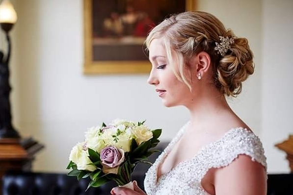 'Ipswich Luxury Wedding Show' photoshoot.  Hair styles by Karen's Beautiful Brides