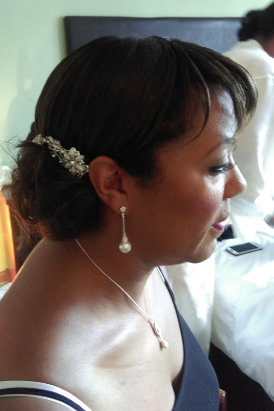 Bridesmaid - Wedding hair by Karen's Beautiful Brides