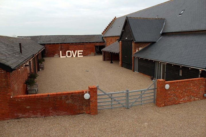 Copdock Hall Barn, Suffolk wedding venue