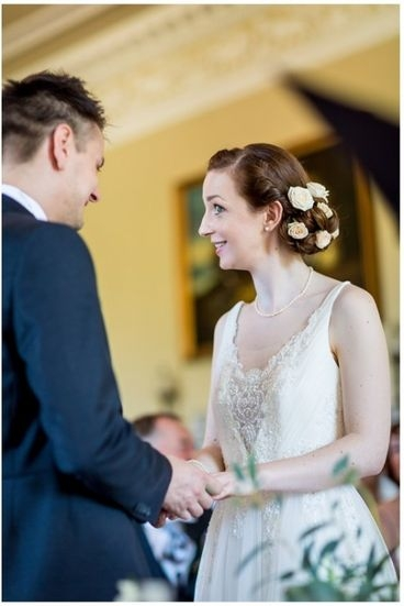 Photo of brides wedding hair by Karen's Beautiful Brides, Suffolk