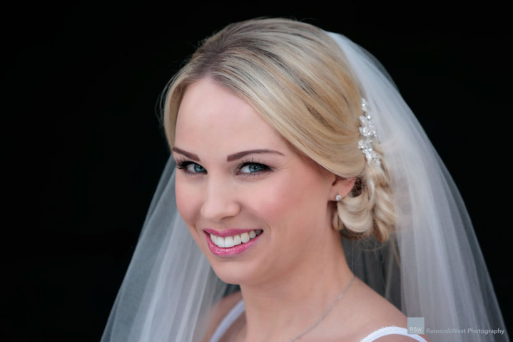 Wedding hairstyles created by Suffolk wedding hair specialist Karen Lowe