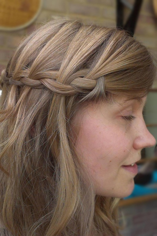 Photos of beautiful wedding hair created by Karen's beautiful brides who cover an area including Suffolk, Norfolk, Essex and into Cambridgeshire