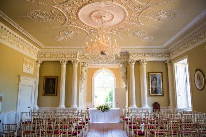 Inside Kimberley Hall, Norfolk wedding venue, by Karen's Beautiful Brides