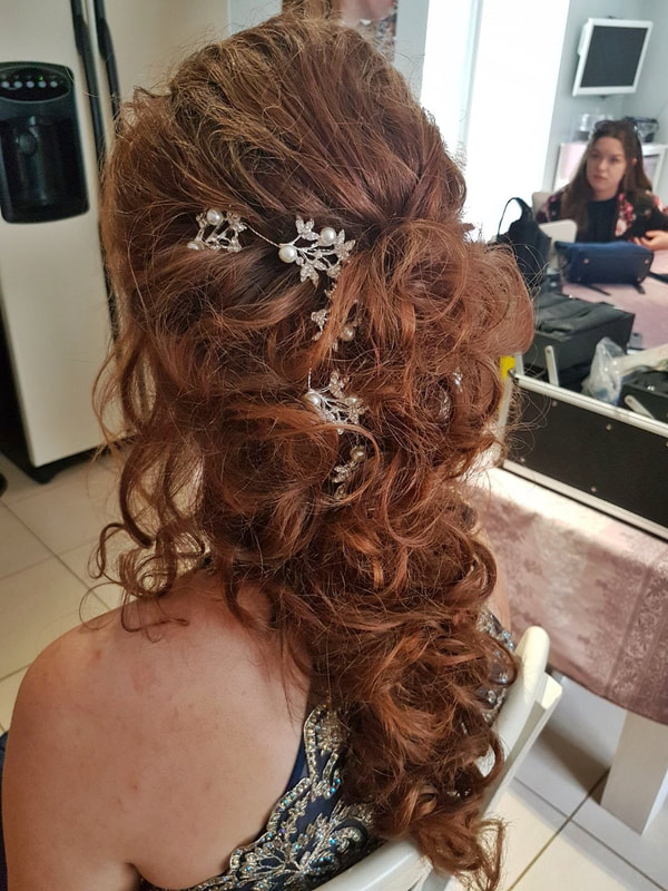 Karen's Beautiful Brides | Wedding Hair Stylist | Hair down