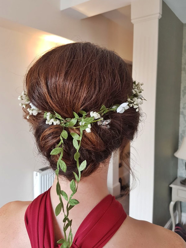 Karen's Beautiful Brides | Wedding Hairdresser | Hair up BoHo