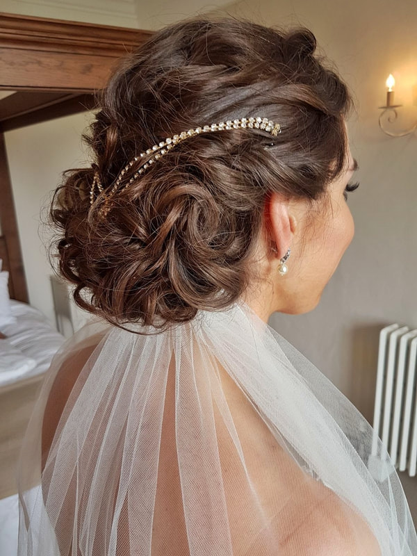Karen's Beautiful Brides | Wedding Hair Stylist | Hair up